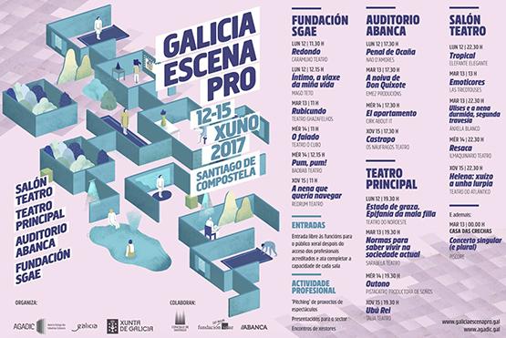 Talía Teatro participa con Ubú Rei no Galicia Escena PRO 2017