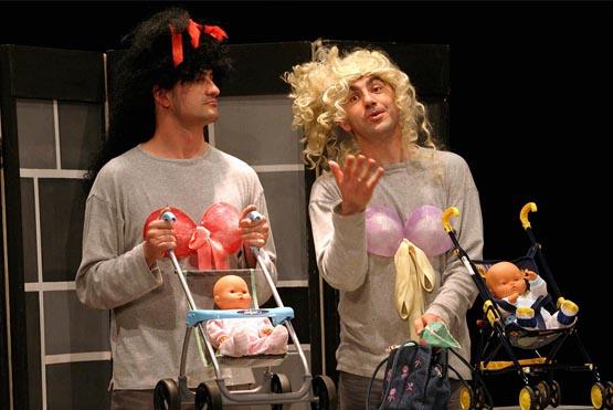 Bicos con lingua unha obra da compañía galega Talía Teatro