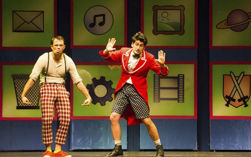 Talía Teatro visita aos escolares do Condado