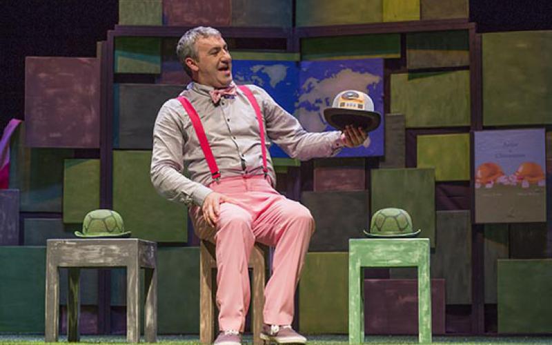 Talia Teatro leva Rosa Caramelo o Teatro Andamio